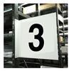 Stranco Inc HPS-2W1412-3 Projecting Aisle Sign, Legend 3