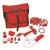 Brady 99688 Portable Lockout Kit, 18, Electrical/Valve
