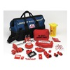 Brady 99690 Portable Lockout Kit, Electrical/Valve, 22