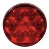 Maxxima M42344R Stop/Tail/Turn Light, LED, Red, 4-1/4 Dia