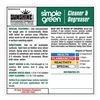 Simple Green 9500001085435 Secondary Labels, Secondary, PK 10