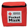 American Red Cross 363015-GR Pocket CPR Mask, Soft Case