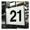 Stranco Inc HPS-2W1412-21 Projecting Aisle Sign, Legend 21