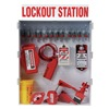 Brady 99704 Lockout Station, Elctrical/Valve, 12 Locks
