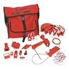 Brady 99687 Portable LockoutKit, Red, Electrical/Valve