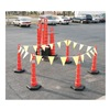 Cortina 03-751-64HI Traffic Control Kit, Orange, 48 x 48 72 In
