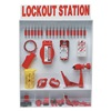 Brady 99700 Lockout Station, Electrical, 18 Padlocks