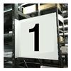 Stranco Inc HPS-2W1412-1 Projecting Aisle Sign, Legend 1