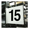 Stranco Inc HPS-2W1412-15 Projecting Aisle Sign, Legend 15