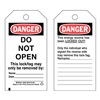 Brady 66060 Danger Tag, 5-3/4 x 3 In, OSHA, 3/8 In, PK25