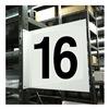 Stranco Inc HPS-2W1412-16 Projecting Aisle Sign, Legend 16