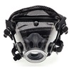 Scott Safety 804069-19 Full-Face Respirator, Poly Headnet, S