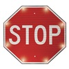 Tapco 2180-00390 Blinking Sign, Stop, 24 x 24 In.