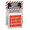Brady 99289 Lockout Station, Unfilled, 2 Components