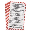 Brady LOSC13 PRINZING LOCKOUT SAFETY CARD, PK 10