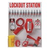 Brady 99697 Lockout Station, Elctrcl/Vlve, 19-1/2 In W
