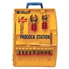 Brady 105931 Lockout Station, Filled, 27 Components