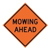 Usa-Sign 669-C/48-EMO-MA 48in MOWERS AHEAD Mesh