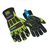 Ringers Gloves 295-10 Cold Protection Gloves, Leather, L, Pr