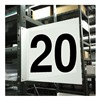 Stranco Inc HPS-2W1412-20 Projecting Aisle Sign, Legend 20