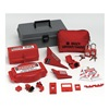 Brady 99684 Portable Lockout Kit, 18, Electrical/Valve