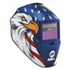 Miller Electric 256 167 Welding Helmet, Dig Pro-Hobby, Blue Eagle