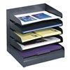 Safco 3127BL Letter Tray/File Holder, 5, Comp