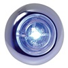 Maxxima M09370BCL LED Micro Strobe, Blue, 1 Inch Round
