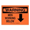 Brady 27095 B302 SAFETY SIGN 10X14 BLK/ORG