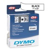 Dymo 53713 White Label Tape Cartridge, 23 ft. L