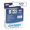 Dymo 53713 White Label Tape Cartridge, 23 ft. L
