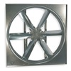 Dayton 7CC09 Supply Fan, 24 In, Volts 208-230/440