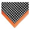 Notrax 549S3864OB Mat, Anti Fatigue, 38 x 64 In, Black/Orange