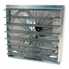 Dayton 1HLB6 Exhaust Fan, 36 In, 115 V, Single Speed