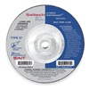 United Abrasives-Sait 20099 Depressed Center Whl, T27, 9x1/4x5/8-11, CA