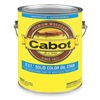 Cabot 140.0006712.007 Solid Oil Stain, Ultra White, Flat, 1gal