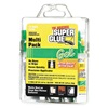 Super Glue 15185 Instant Adhesive, Gel, 2g Tube, Pk 12