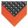 Wearwell 479.34X3X4BOR Mat, 3 x 4 Ft., Black/Orange, Open Grid