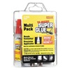 Super Glue 15187 Instant Adhesive, 2g Tube, Clr, Pk 12