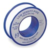 Thread Sealant Tape, PTFE, 1/2 x 260 In