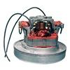 Domel 496.3.211 Vacuum Mtr/Blwr, Thru-Flow, 1 Stge, 1 Spd