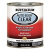 Rust-Oleum 253522 Auto Body Paint, Clear Coat, 1 Qt.