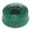3M 18698 Bristle Disc, 1 In Dia, 5/8 In Trim, 50G