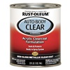 Rust-Oleum 253521 Auto Body Paint, Metallic Clear, 1 Qt.