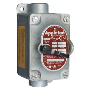 APPLETON ELECTRIC Tumbler Switch, 3-Way, 1 Gang, 20A, 1In, FT at Sears.com