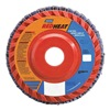 Norton 63642536153 Flap Disc, 4 In X, 40 Grit, 5/8, TY27