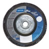 Norton 66254461170 Flap Disc, 4 1/2 In X, 60 Grit, 5/8-11, TY29