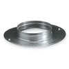 Ameriflow G6408C Snap On Collar, Round, Galvanized Steel