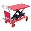 Dayton 6W804 Scissor Lift Cart, 2000 lb., Steel, Fixed