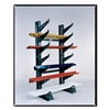 Jarke CR-7A Inclined Add-On Cantilever Rack, 7 ft. H
